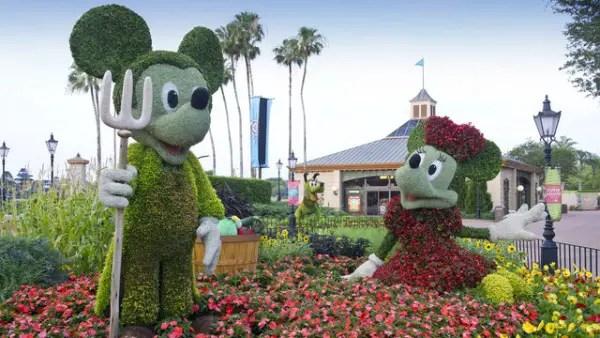 Dates for 2018 Epcot International Flower & Garden Festival Announced 2