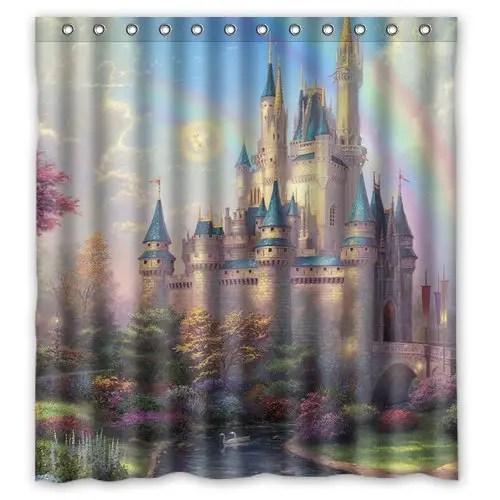 Disney Find Disney Castle Shower Curtain