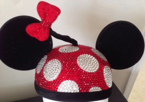Swarovski Minnie Hat