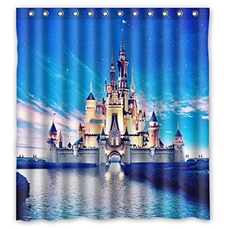 Disney Castle Shower Curtain