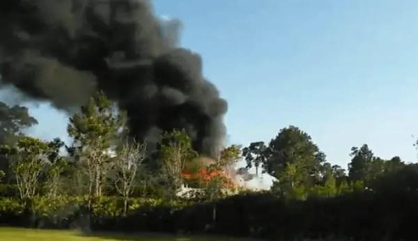 Bus on fire by Disney Animal Kingdom - YouTube