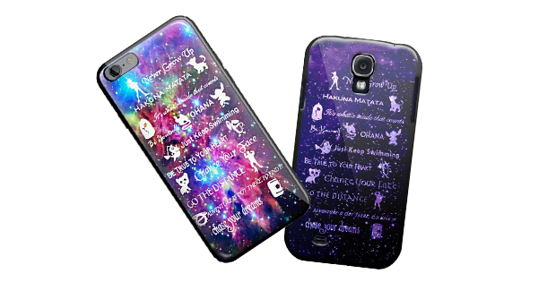 Disney Lessons Cell Phone Cases
