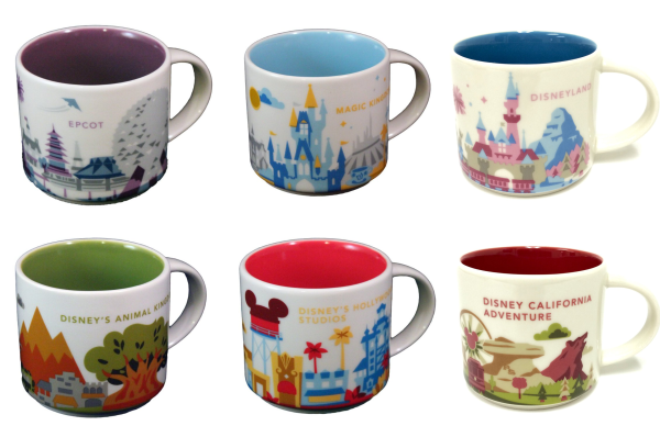 Full Collection Of The Disney Starbucks Mugs