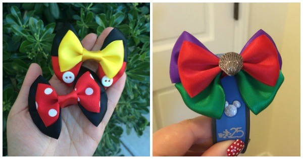 Decorate Your Magicbands With Gorgeous Magicband Bows