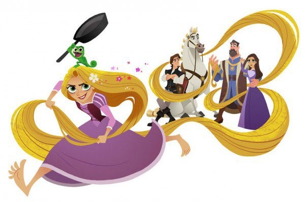 Concept art for Tangled: Before Ever After