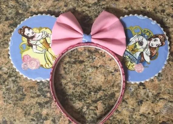 Springtime Minnie Mouse Ears