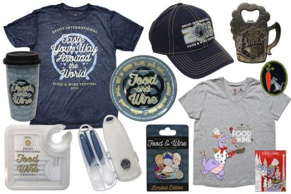 Food & Wine Festival Merchandise