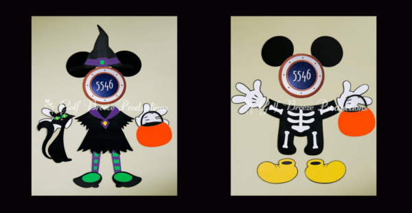 photograph regarding Disney Cruise Door Decorations Printable named Acquire Spooky upon the Large Seas with Disney Halloween Cruise Magnets
