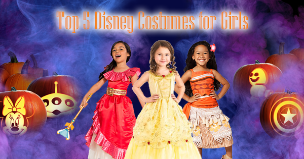 Top 5 Disney Costumes for Girls