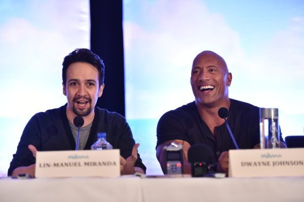 Press Conference for MOANA at the Press Junket