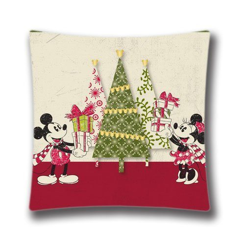 add a holiday touch with a disney christmas pillow cover chip and co