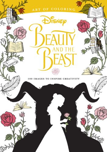 New Cover Art For Disney Of Coloring Beauty And The Beast