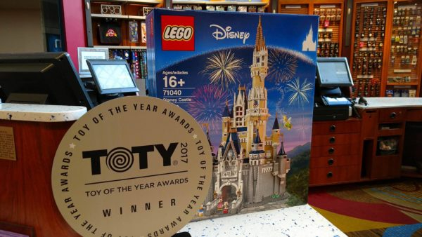 The Disney Castle by LEGO is the Specialty Toy of the Year 1