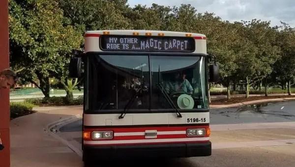 Express Bus at Disney World