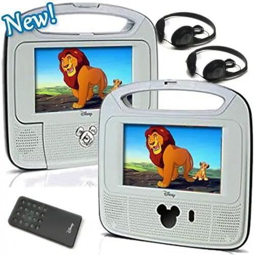 Portable Disney DVD Player