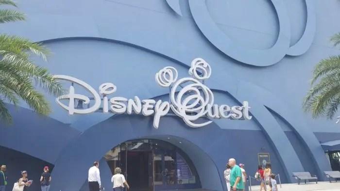 Disney Quest Closure