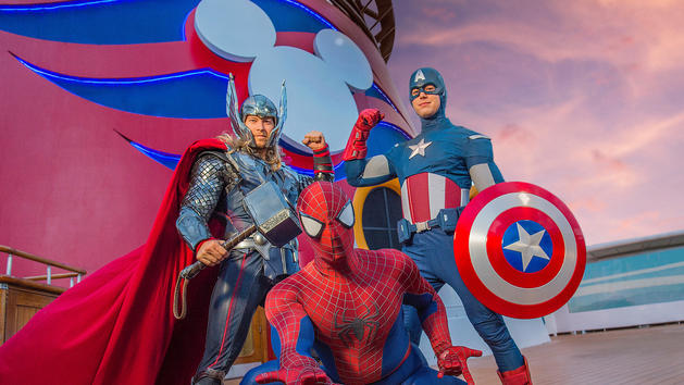 Marvel Day at Sea - Stunt Performers