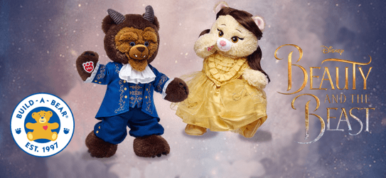 Build-A-Bear Beauty and the Beast Collection