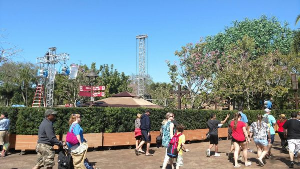 Preparations Begin for 'The View' Taping at Animal Kingdom 3