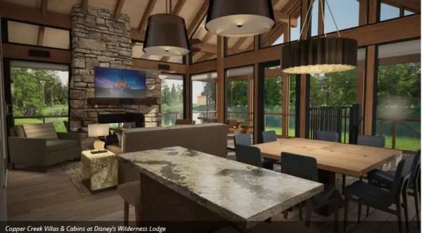 Wilderness Lodge Copper Creek Villas & Cabins