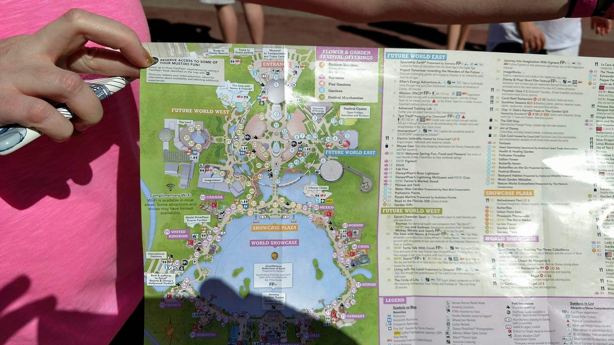 an exclusive peek at the flower and garden festival park maps