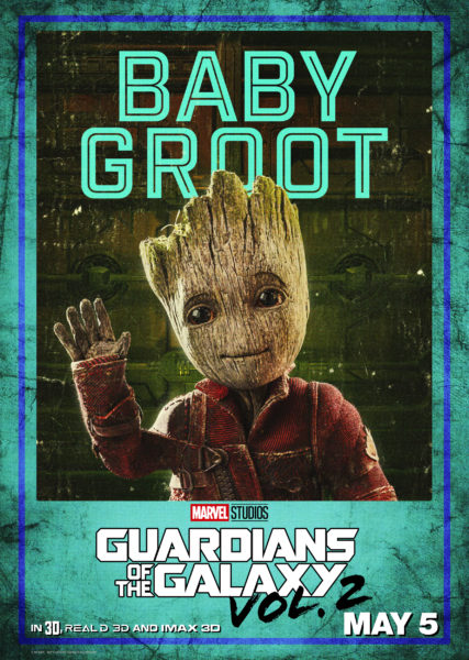 """Guardians Of The Galaxy Vol 2"" New Posters, New Trailer, tickets now available 4"