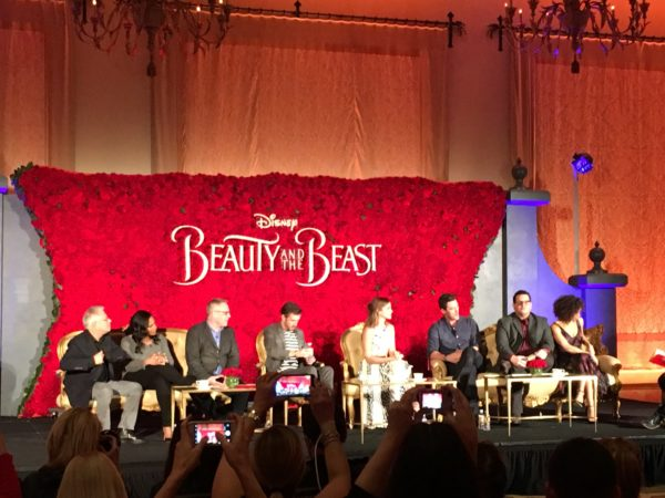"""Magic and The """"Beauty And The Beast"""" Press Conference 2"""