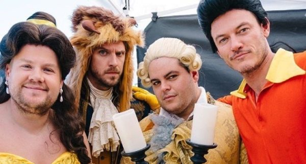 """""""Beauty And The Beast"""" Performed On """"Late Late Show"""" Musical Crosswalk! 1"""