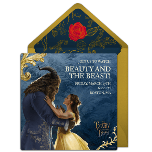 Punchbowl Introduces the 'Movie Magic Giveaway' for Beauty and the Beast 2
