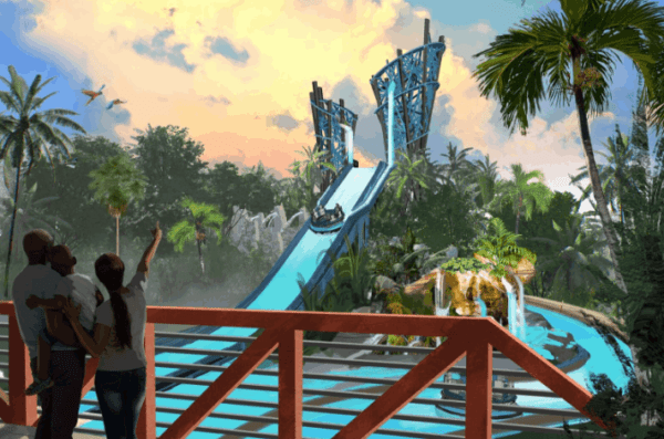 SeaWorld Orlando is Ready to Rush the Rapids with all new ride Infinity Falls in 2018 3