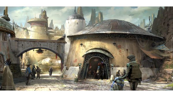 New details on Star Wars Land from Disney Parks Imagineers and Lucasfilm 1