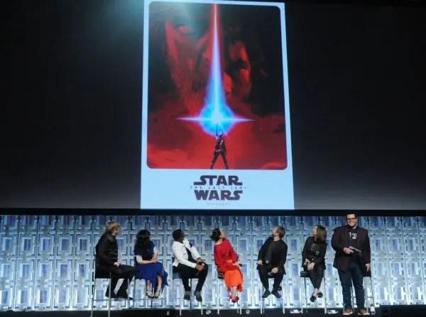 """Star Wars: The Last Jedi"" Panel Photos 1"