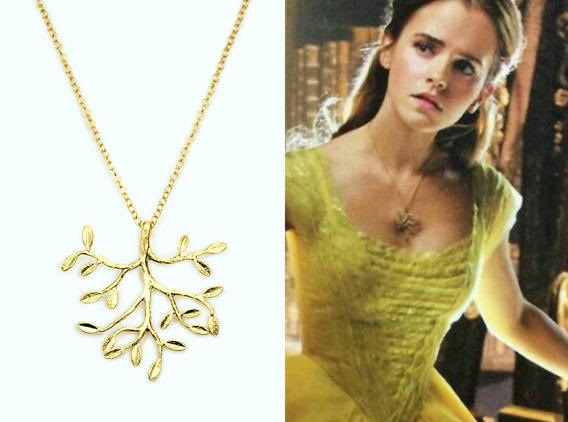 Belle's Golden Tree Necklace