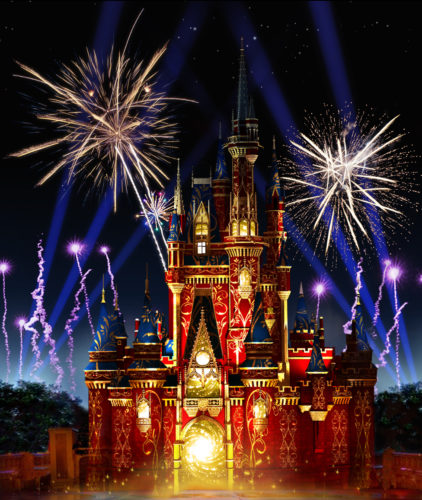 Happily Ever After Fireworks