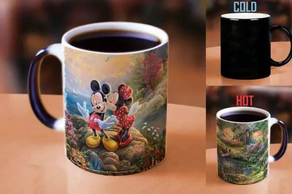 Mickey and Minnie Sweetheart Cove Heat Reveal Mug