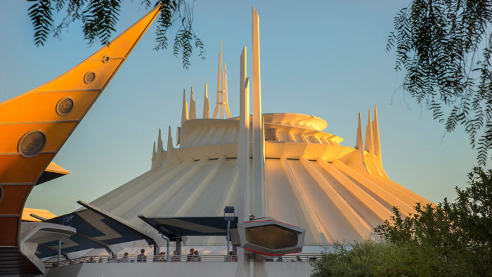 Space Mountain Disneyland