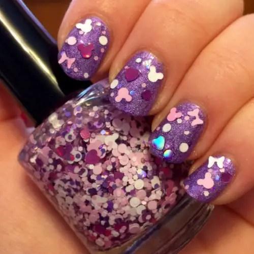 summer Disney Inspired Nail Polish