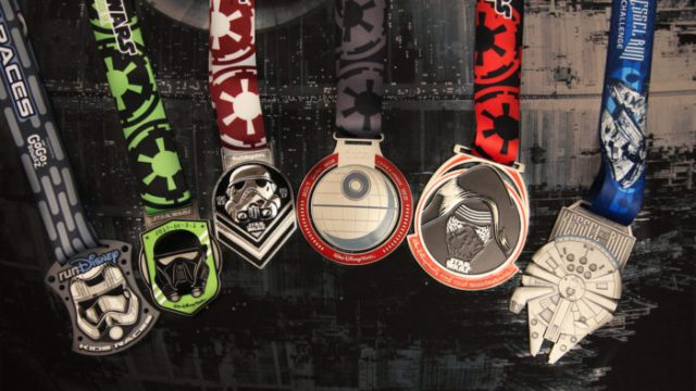 Star Wars Half Marathon - The Dark Side Medals