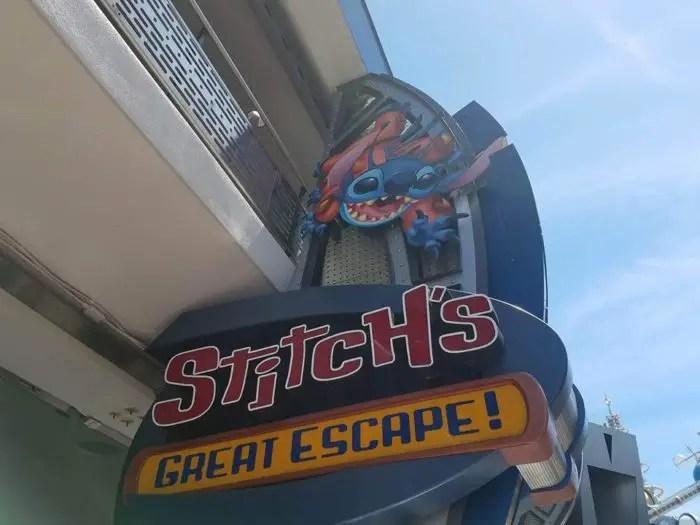 Stitch's Great Escape Re-Open