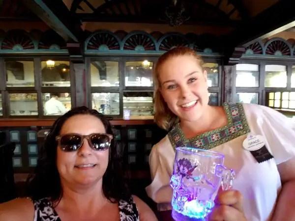 Magic Kingdom's Tortuga Tavern Debuts Mickey Mouse Pirate Glow Cup 2