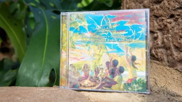 Aulani Soundtrack CD