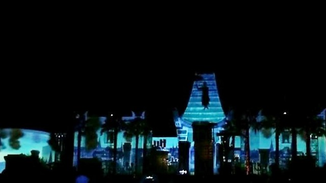 """Video of """"Disney Movie Magic!"""" the Surprise New Nighttime Show at Hollywood Studios 3"""
