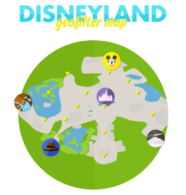 Current Listing of Where All The Snapchat Filters Are At The Disney Parks 1