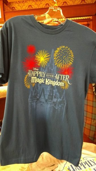 """New """"Happily Ever After"""" Merchandise Being Offered at The Magic Kingdom 2"""