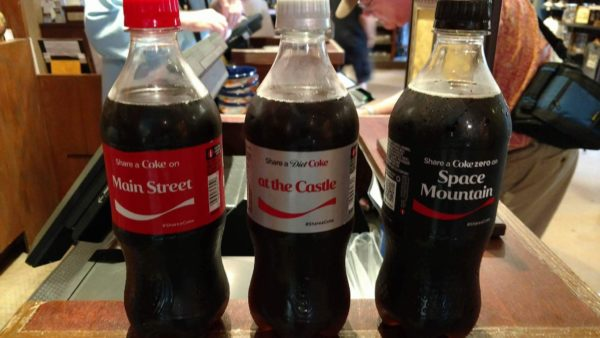 The Coca-Cola 'Share a Coke' Campaign hits Walt Disney World 1