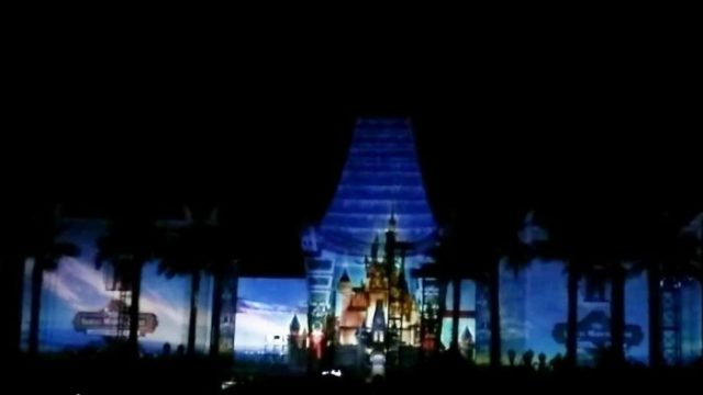 """Video of """"Disney Movie Magic!"""" the Surprise New Nighttime Show at Hollywood Studios 1"""