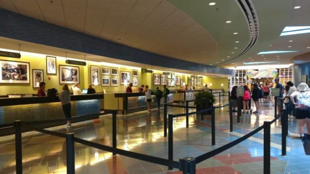 Hotels of Central Florida - Pop Century lobby
