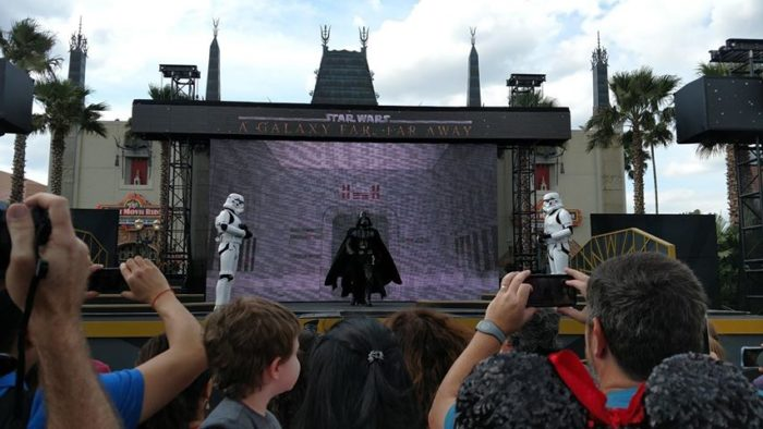 A Galaxy Far, Far Away Stage Show