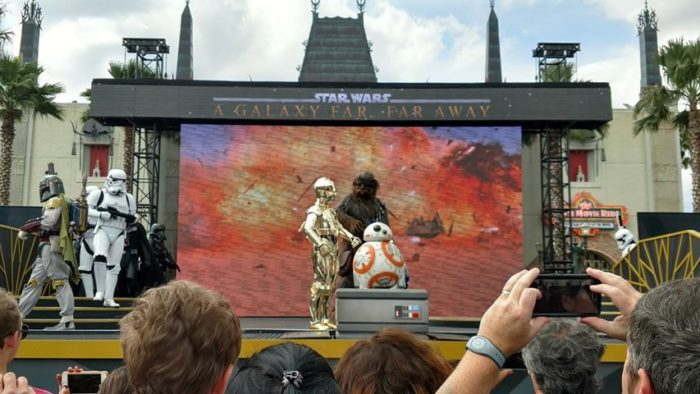 A Galaxy Far, Far Away Star Wars Stage Show