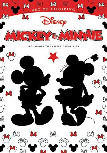 Art of Coloring: Mickey and Minnie